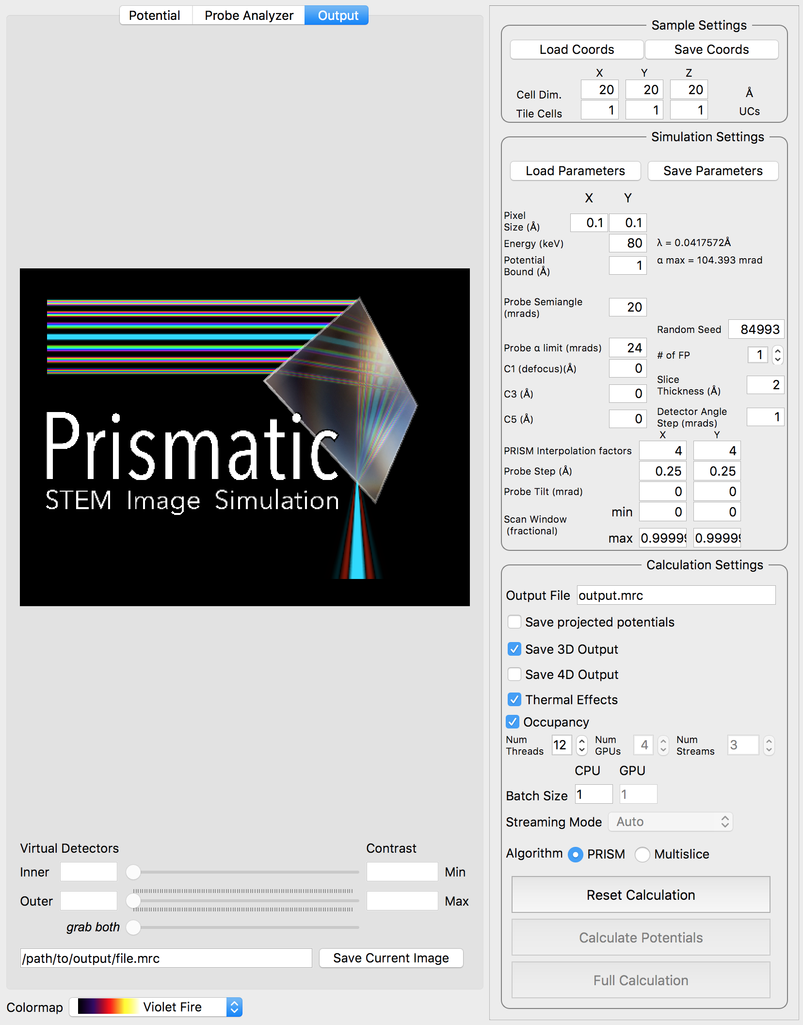 Prismatic screenshot 01